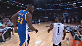 Kevin Hart vs Draymond Green - 3 point Shootout - 2016 All-Star Weekend - dooclip.me