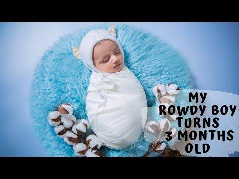 Lasya Talks | Our Baby Boy Turns 3 Months Old | Junnu | Daksh |