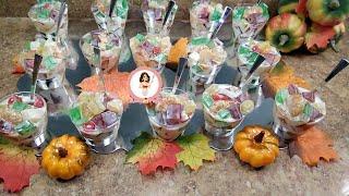 Ensalada De Gelatina Otoño 🍃🍂 /  Fall Jello Salad Thanksgiving