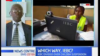 Former ECK commissioner-Gabriel Mukele shares his remarks on the rift at the IEBC