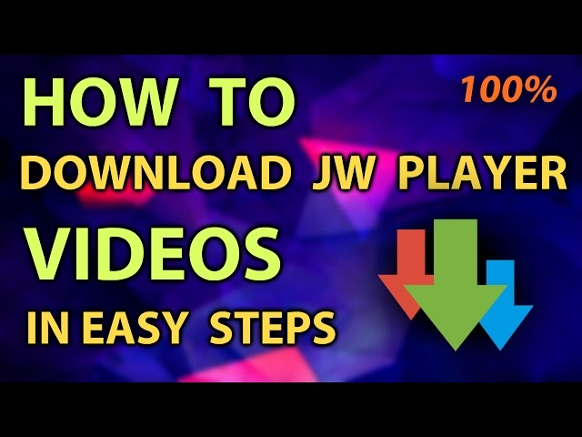 jw player downloader