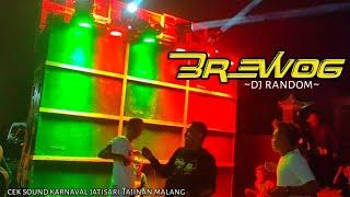 BREWOG DJ RANDOM RICO PILLOW CEK SOUND KARNAVAL JATISARI MALANG