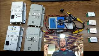 Dragonlink 1.3 GHz LNA - P1DB and Video Receiver Shootout - Long Range FPV Video Series - PK's Lab