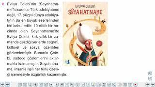 Eğitim Vadisi 10.Sınıf TDE 22.Föy Gezi Yazısı (Seyahatname) Konu Anlatım Videoları