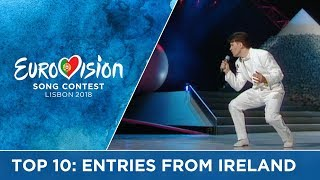 TOP 10: Entries from Ireland