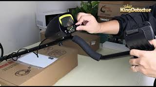 A Video for MD-3030 metal detector, Assembling, Adjusting & Air Test