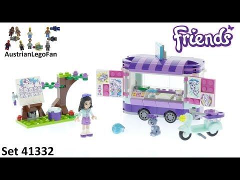 Vidéo LEGO Friends 41332 : Le stand d'art d'Emma