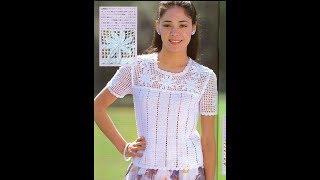 Ажурное Вязание Крючком Женских Кофточек - модели 2018 / Knitting by Crochet of Women