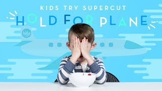 Kids Try Hold for Plane Supercut | Kids Try | HiHo Kids
