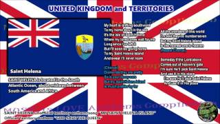 Saint Helena Unofficial Territory Anthem/Song MY SAINT HELENA ISLAND with vocal and lyrics