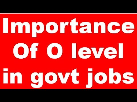 Importance Of Doeacc O level Certificate In Government Jobs ...