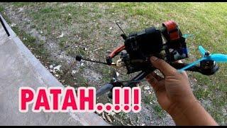 INSIDEN SALTO, PATAH!! DRONE RACING FREESTYLE, BAKAL COBA UNTUK LIPUT DARI ATAS, ANAK VESPA EXTREME