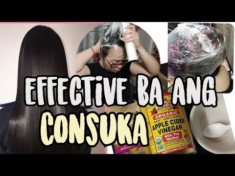 CONSUKA?? Conditioner + Suka = murang hair treatment !! - смотреть