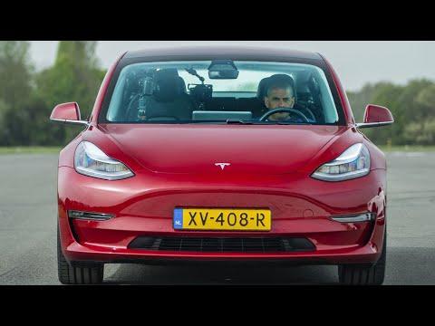 EXCLUSIVE: Tesla Model 3 vs Merc-AMG C63 S BMW M3 & Alfa Giulia QV Drag Race | Top Gear: Series 27