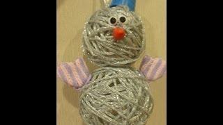 МК по полимерной глине:варежки для hand made снеговичка/Polymer clay mittens tutorial & snowman