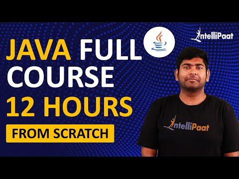 Java Tutorial for Beginners | Java Programming | Intellipaat - YouTube