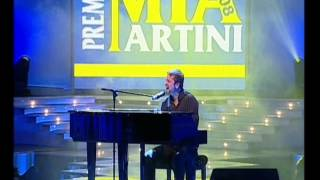 Marco Masini In Ci Vorrebbe Il Mare (Piano E Voce). Premio Mia Martini 2008