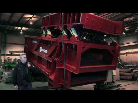How does the STM-SCREEN™ ship to remote mining locations?