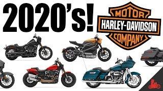2020 Harley-Davidson Lineup!