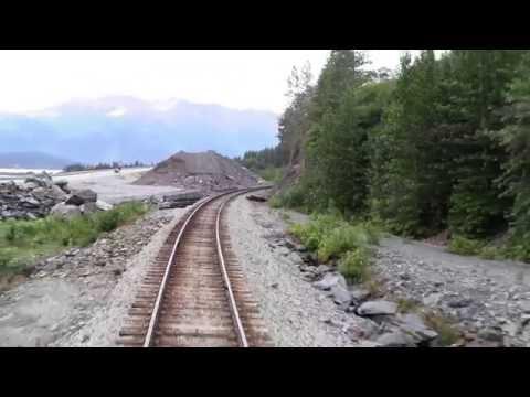 A RAIL FAN RIDE FROM ANCHORAGE TO SEWARD, ALASKA