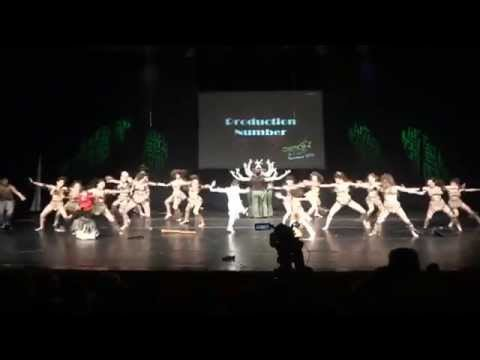 Afro-Tribal | LOCUL I @ ESDU 2015 | Total Dance Center