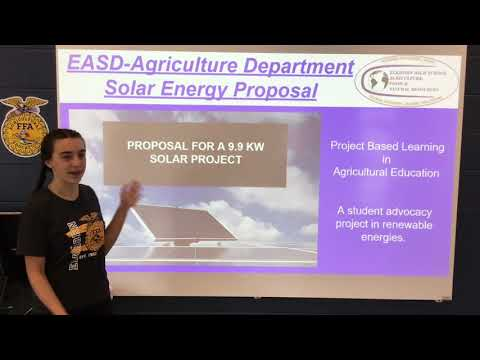 EAHS Greenhouse Solar Project Image