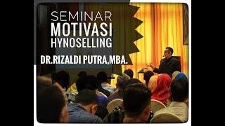YES, I CAN! Seminar Motivasi Hypnoselling Bersama DR.RIZALDI PUTRA, MBA.