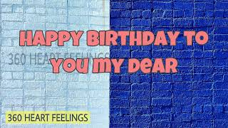 Happy Birthday Wishes To Daughter | Happy Birthday Wishes Quotes For Daughter | 360 Heart Feelings
