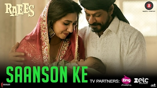 Saanson Ke   Raees   Shah Rukh Khan & Mahira Khan   KK   Aheer for JAM8