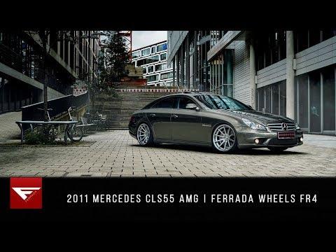 2011 Mercedes CLS55 AMG | Ferrada Wheels FR4