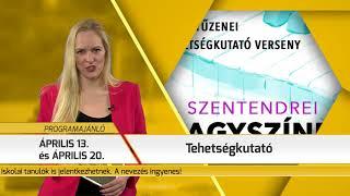 Programajánló / TV Szentendre / 2018.03.22.