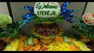 How To Decorate Fruit Table For Parties