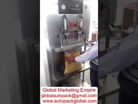 Vertical Model Vacuum Packing Machine