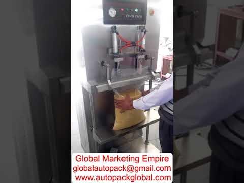 Vertical Model Vacuum Packing Machine