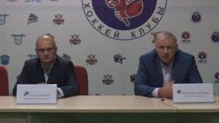Пресс конференция после игры «Алматы» - «Темиртау»