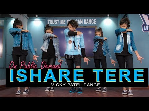 Ishare Tere Dance Video | Guru Randhawa | Vicky Patel Choreography | Easy Bollywood Hip Hop
