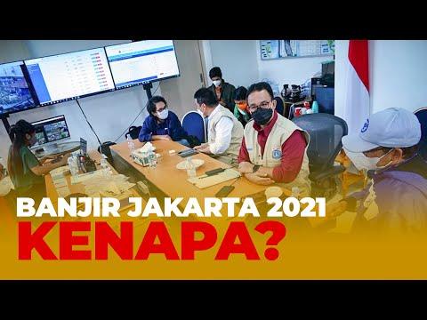 Banjir Jakarta 2021, Kenapa?