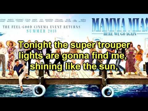 Mamma Mia! Here We Go Again - Track 24  - Super Trouper (Instrumental/Karaoke)