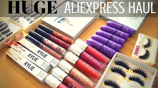 HUGE Aliexpress Haul | Swatches & Review!!
