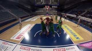 preview picture of video 'TKM Włocławek vs AKM Portofino Włocławek (80:48) - 25.10.2013'