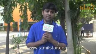 Kabilan Vairamuthu at Aayirathil Iruvar Team Interview