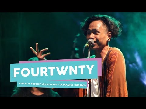 [HD] Fourtwnty - Zona Nyaman (live at IF PROJECT, GOR UNY, September 2017)