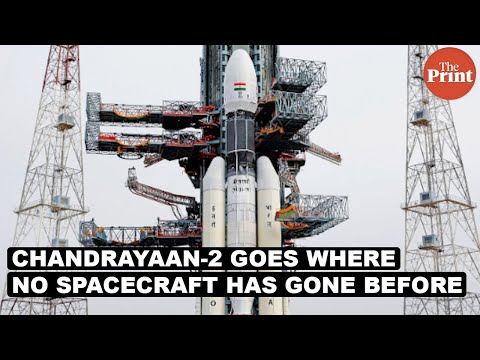 Chandrayaan-2 goes where no spacecraft has gone before