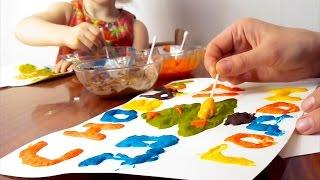 Новогодняя 3D открытка своими руками. Делаем 3D Краски своими руками дома.