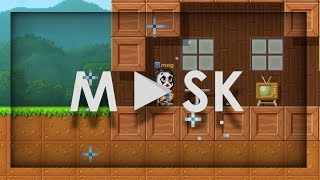 Pixel Worlds - Mask (Life Of A Person Behind A Mask) (PW SHORT-FILM WINNER!!)