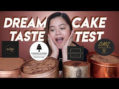TRENDING! Dream Cake Taste Test PH | Merienda Time