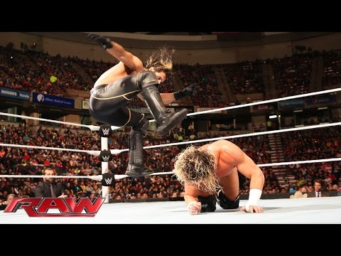 Dolph Ziggler Vs. Seth Rollins: Raw, April 20, 2015