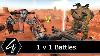 War Robots - 1 V 1 with Aphid Orkan Griffin - Test Server