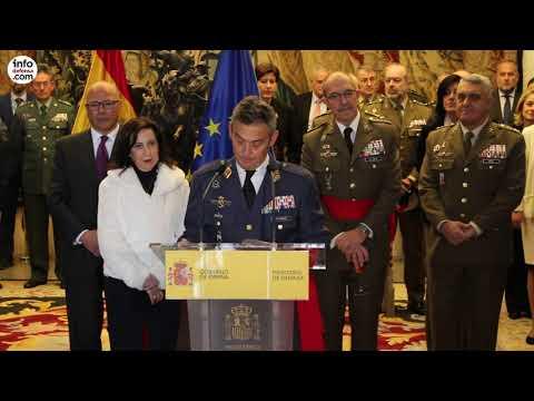 Miguel Ángel Villarroya toma posesión como nuevo Jemad
