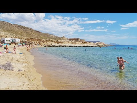 Playa El Playazo de Rodalquilar Nijar Almería